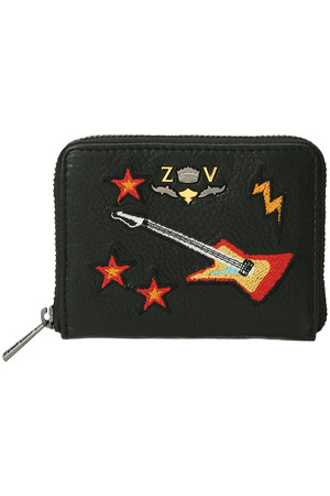 MINI ZV BRIDERY 財布 ザディグ エ ヴォルテール/ZADIG & VOLTAIRE