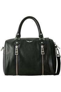 <ELLE SHOP>SUNNY SMALL BAG/ボストンバッグ ブラック画像