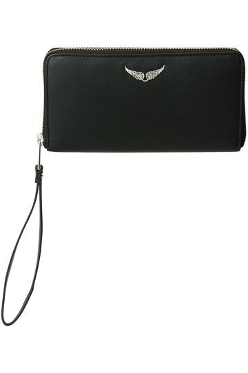 ザディグ エ ヴォルテール/ZADIG & VOLTAIREのCOMPAGNON ウォレット/財布(ブラック/PWGAP4003F)