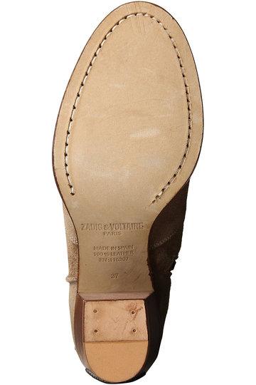 ザディグ エ ヴォルテール/ZADIG & VOLTAIREのMOLLY SUEDE ブーツ(ブラック/PWGAK1705F)
