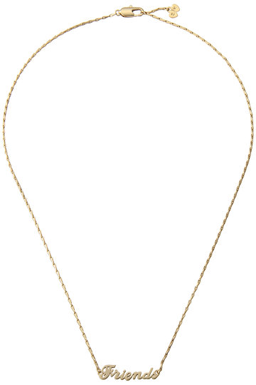 ZADIG & VOLTAIRE ザディグ エ ヴォルテール FRIENDS COLLIER ネックレス ゴールド