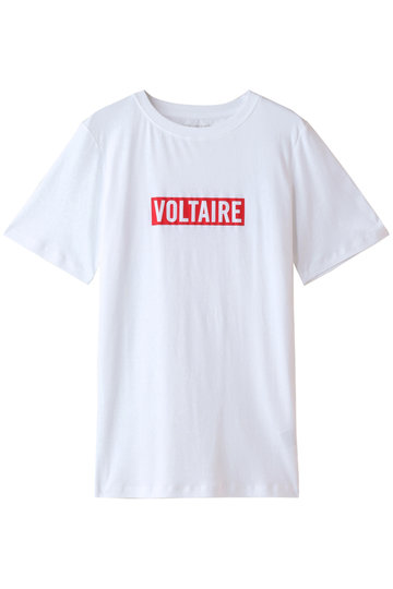 ZADIG & VOLTAIRE ザディグ エ ヴォルテール BELLA VOLTAIRE Tシャツ ホワイト