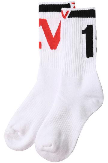 ZADIG & VOLTAIRE ザディグ エ ヴォルテール SOKI ZV1 SOCKS SHOW /靴下 ホワイト