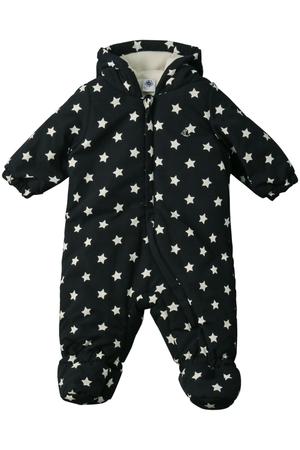 【Baby】星プリントカバーオール プチバトー/PETIT BATEAU