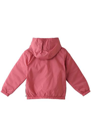 プチバトー/PETIT BATEAUの【Kids】フード付きパフジャケット(ネイビー/キャメル/44867)