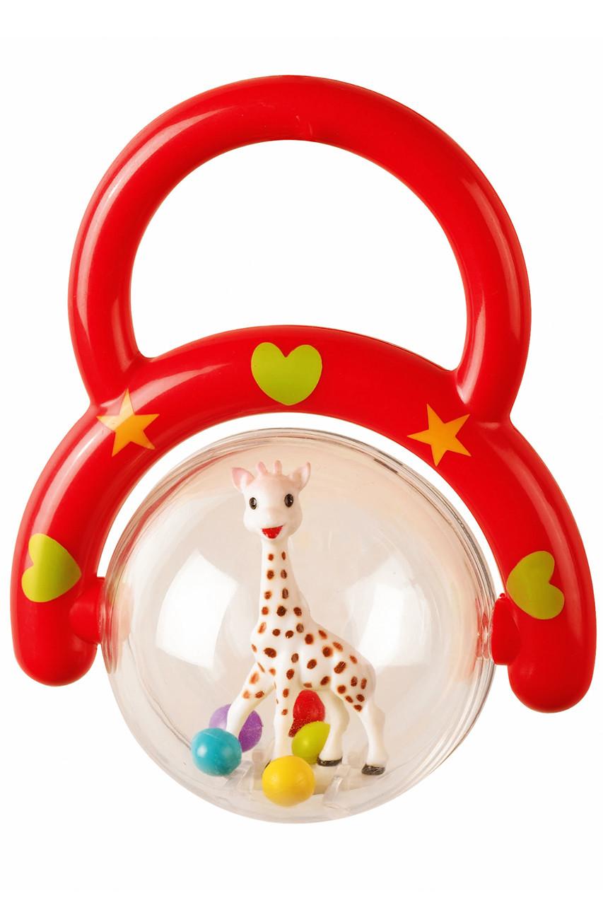 キリンのソフィー/Sophie la girafeのハンドラトル(レッド&グリーン)(レッド/3056560101265)