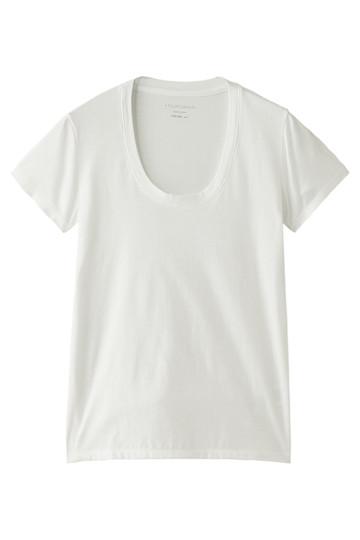 半袖Tシャツ(Uネック) フォーコーナーズ/+FOUR CORNERS
