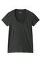 半袖Tシャツ(Uネック) フォーコーナーズ/+FOUR CORNERS ダークグレー