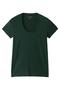 半袖Tシャツ(Uネック) フォーコーナーズ/+FOUR CORNERS グリーン