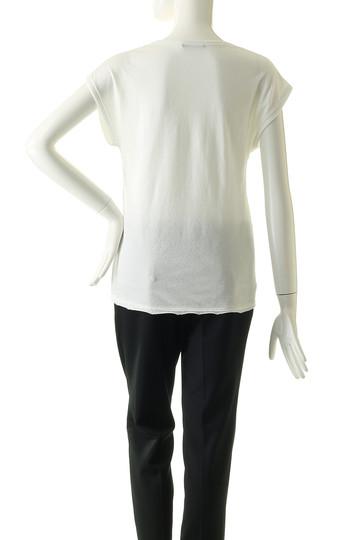 フォーコーナーズ/+FOUR CORNERSのノースリーブTシャツ(カーキ/470421)