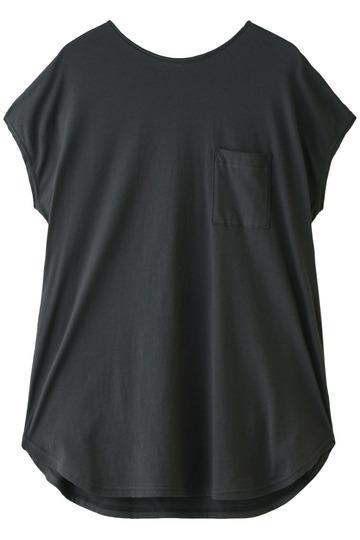 フォーコーナーズ/+FOUR CORNERSのビッグシルエットTシャツ(ダークグレー/480405/470422)
