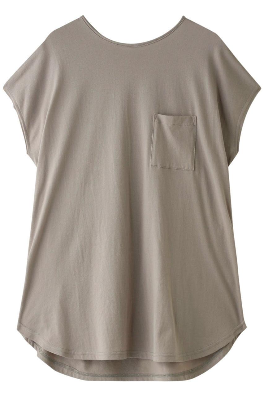 フォーコーナーズ/+FOUR CORNERSのビッグシルエットTシャツ(ベージュ/480405/470422)