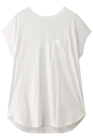 フォーコーナーズ/+FOUR CORNERSのビッグシルエットTシャツ(オフ/480405/470422)