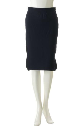 フォーコーナーズ/+FOUR CORNERSの裏毛スカート(粗挽きグレー/480202)