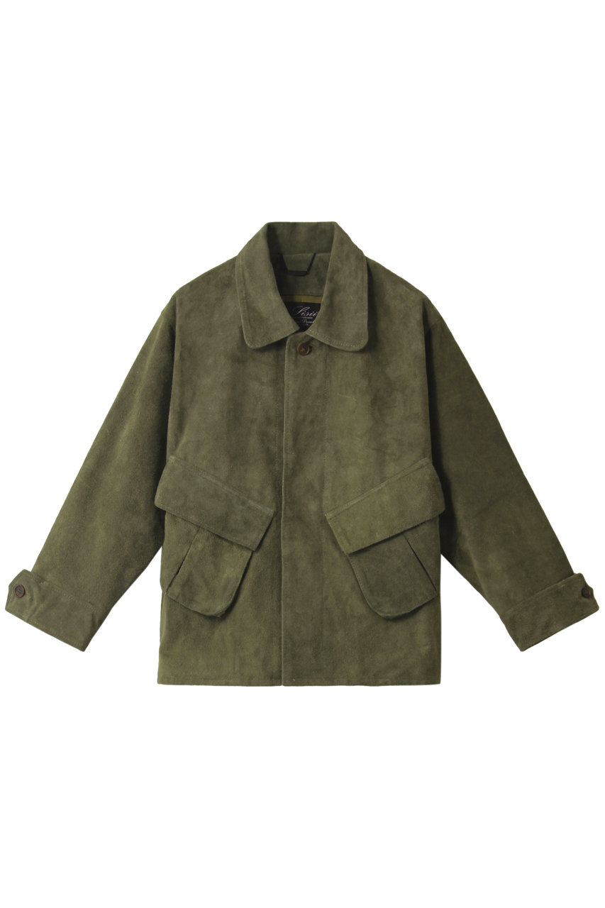シシ/sisiiのスウェードシャツ(セージ/108-OL)