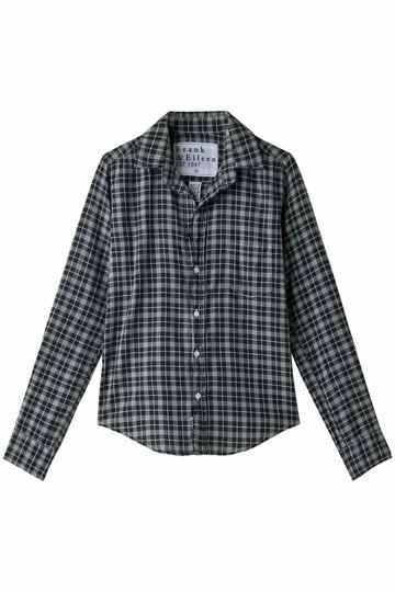 <ELLE SHOP> Frank&Eileen フランク&アイリーン BARRY チェックシャツ ブラック