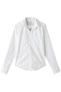 <ELLE SHOP> BARRY ハート刺繍シャツ ブラック