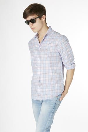 【MEN】PAUL コットンチェックシャツ フランク&アイリーン/Frank&Eileen