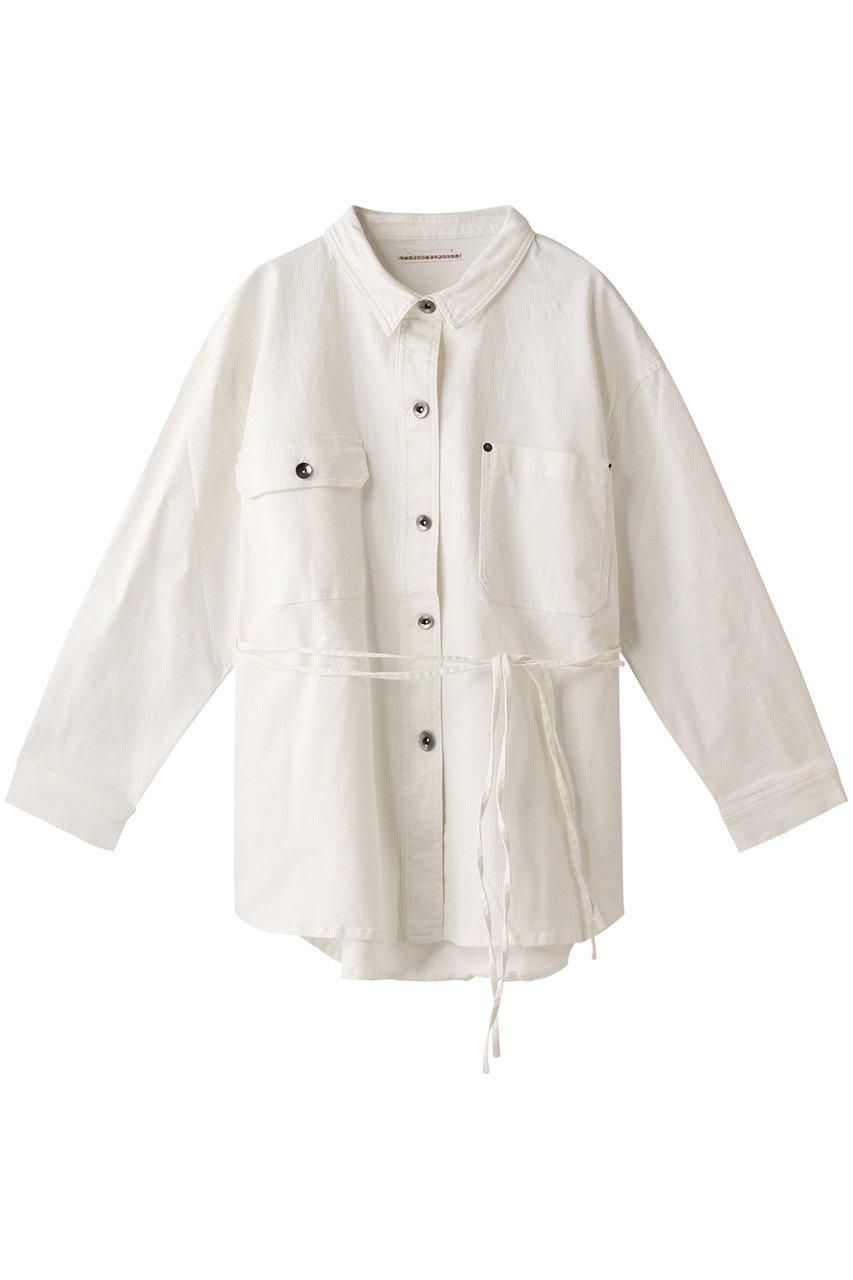 ローズバッド/ROSE BUDの【P.P】シャツジャケット(ホワイト/6010121009)