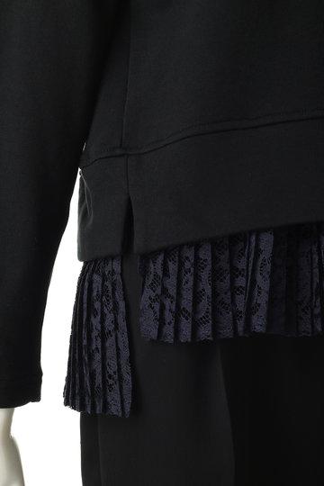 ローズバッド/ROSE BUDの裾レース切替カットソー(オレンジ/6008213066)