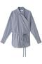 ブローチドロンストラップシャツ ウィム ガゼット/Whim Gazette ネイビー