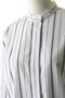 ランダムストライプバンドカラーシャツ ウィム ガゼット/Whim Gazette