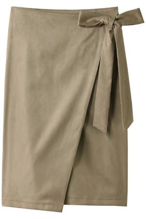 エコスエードラップスカート