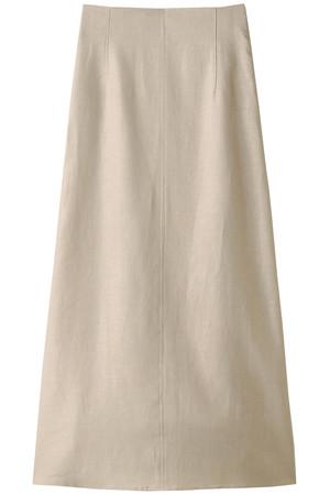 リネンキャンバスロングスカート