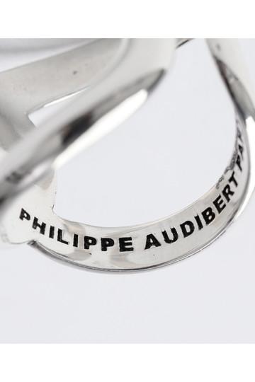 ウィム ガゼット/Whim Gazetteの【PHILIPPE AUDIBERT】ツイストリング(シルバー/71030921)