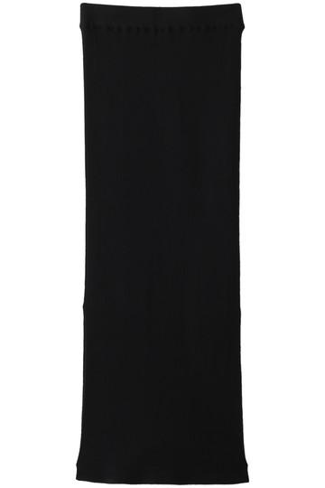 ウィム ガゼット/Whim GazetteのSPIRITOリブスカート(ブラック/71055815)