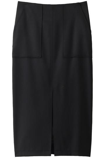 ウィム ガゼット/Whim Gazetteのポケットタイトスカート(ブラック/71103515)