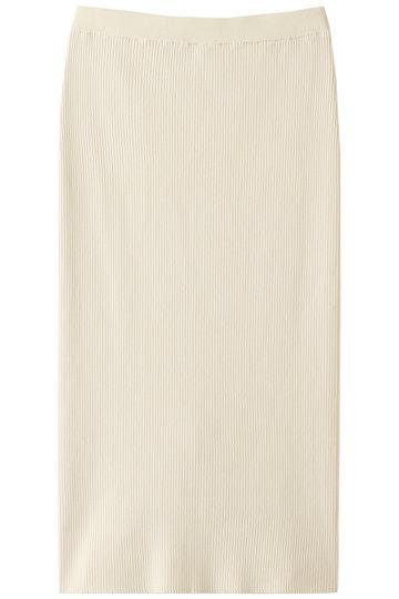 ウィム ガゼット/Whim Gazetteのコットンリブタイトスカート(アイボリー/71159908)