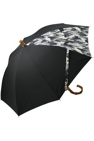 【ELLE SHOP限定】長傘/バンブー ゴールドプレート トラディショナル ウェザーウェア/Traditional Weatherwear