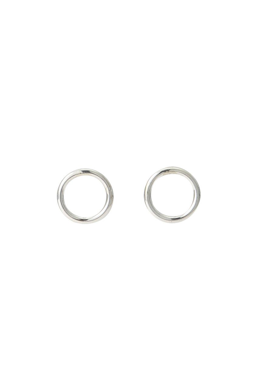SALE 【20%OFF】 HELIOPOLE エリオポール 【Mark Steel Jewelry】サークルピアス シルバー