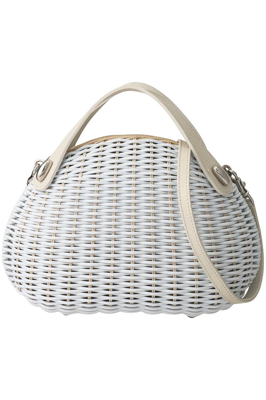 エリオポール/HELIOPOLEの【TOFF&LOADSTONE】Grandma's rattanハンドバッグ(ホワイト/TL-5760)