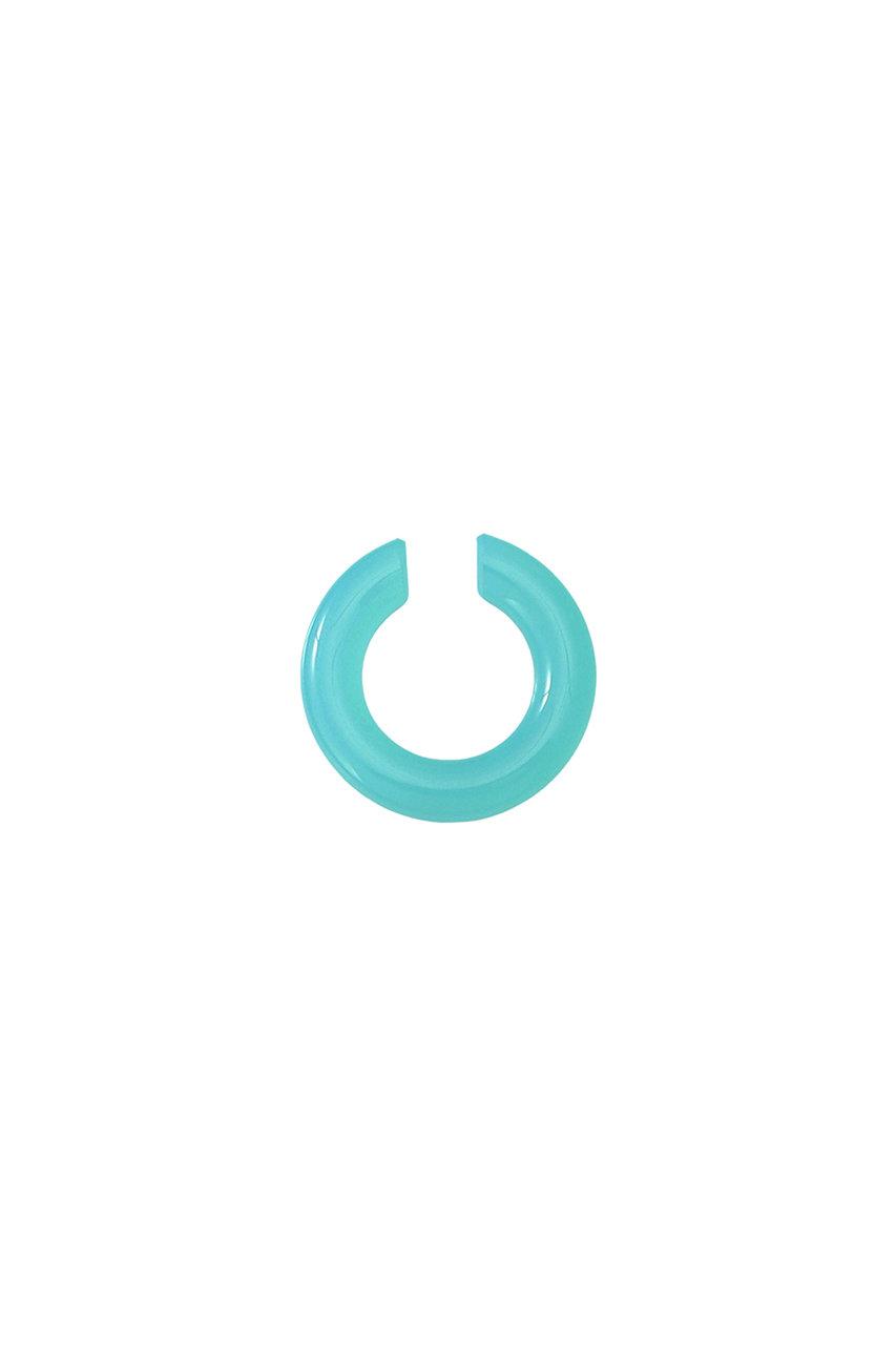 エリオポール/HELIOPOLEの【Saskia Diez】ガラスイヤーカフ(ブルー/BOLD-EARCUFF-SEMIPRECIOUS)