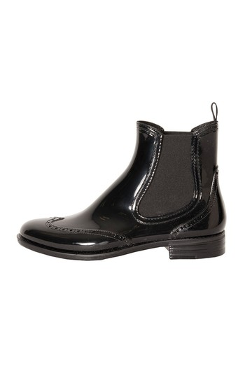 エリオポール/HELIOPOLEの【Traditional Weatherwear】SIDE GOA WING TIP RAINBOOTS/レインブーツ(ブラック/A182MIGGO0078)