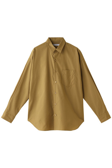 HELIOPOLE エリオポール レギュラーシャツ キャメル