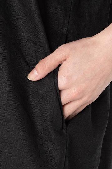 エリオポール/HELIOPOLEの【ウォッシャブル】 40リネン スキッパーワンピース(ベージュ/4193-1407)