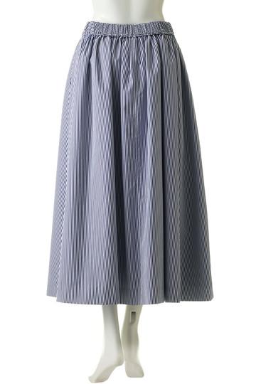 エブール/ebureのサボイストライプスカート(ブラウン/2710500144)