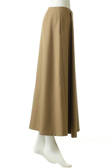 エブール/ebureのウールギャバロングスカート(キャメル/2810500123/18FWSK11)