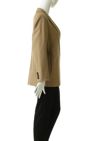 エブール/ebureの【予約販売】ウールギャバジャケット(キャメル/2810400101/18FWJK03)