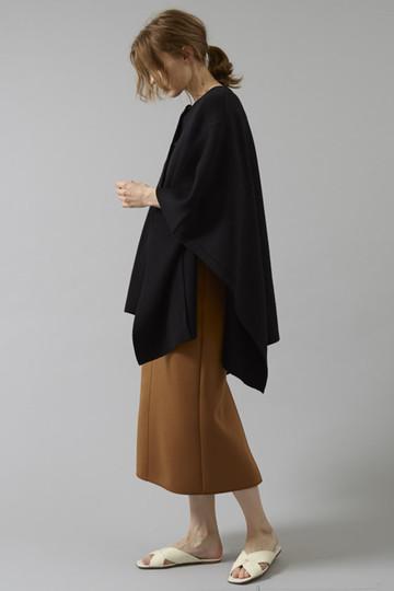 エブール/ebureの【予約販売】ダブルラッセルスカート(キャメル/2810500141/18FWSK19)