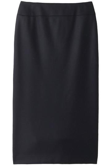 エブール/ebureのハイゲージウールスムーススカート(ネイビー/2810500175/18FWSK32)