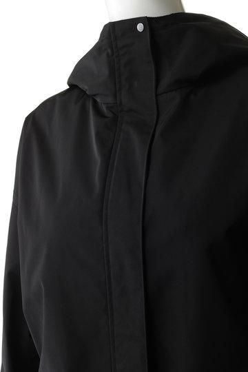 エブール/ebureのハイカウントツイル フーデットジャケット(ブラック/2910400097/19SSJK02)