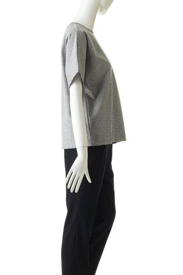 エブール/ebureの超長綿スーピマコットンクルーネックTシャツ(ホワイト/2910900286/19SSCS02)