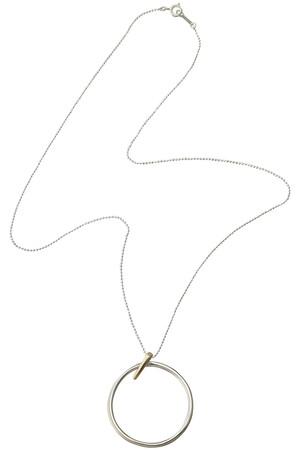 pin hoop ネックレス