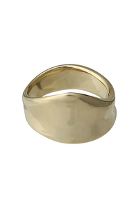<ELLE SHOP>bulge ピンキーリング ゴールド画像