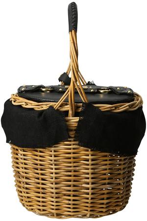 【MAUVE】Ranunculus ラタンワンハンドルバスケット フリー ストア/Flea Store