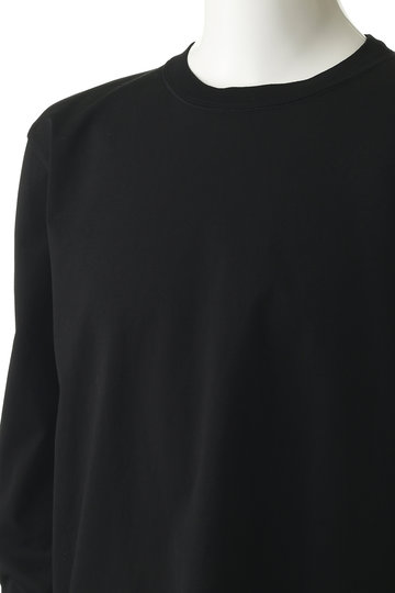 アタッチメント/ATTACHMENTの【MEN】【KAZUYUKI KUMAGAI】60/2 ギザシルキー天竺クルーネックロングスリーブトープ(ブラック/KJ91-042)